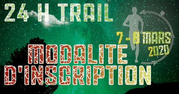 inscription 24HTRAIL 2020